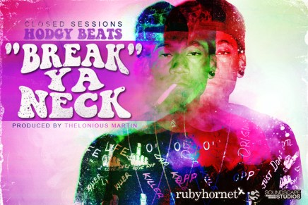Hodgy Beats – Break Ya Neck (Prod. by Thelonious Martin)