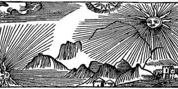 Olaus Magnus Historia om de nordiska folken. Bok 1 - Kapitel 1 - Om Bjarmaland, dess läge och beskaffenhet. Utgivningsår 1555.