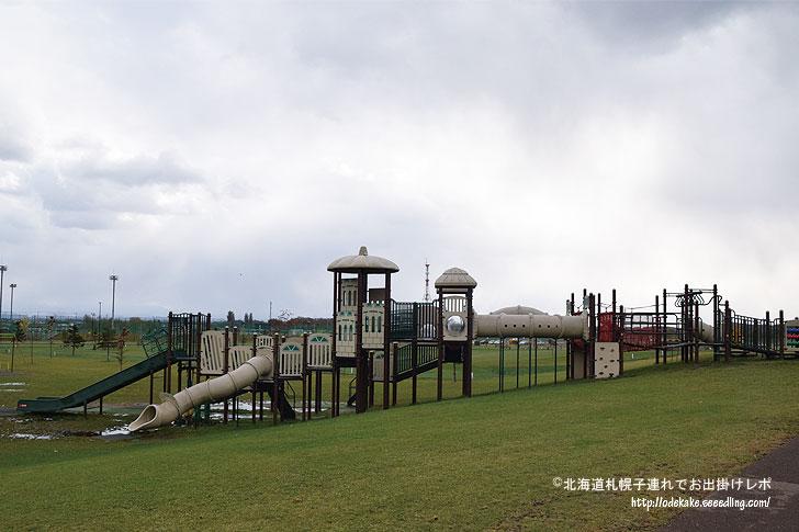 旭川市東光スポーツ公園で雄大な...