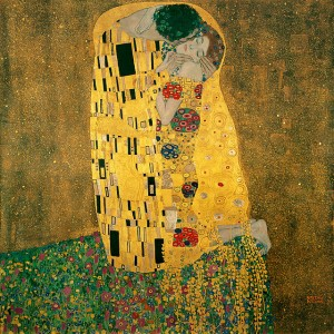 Le baiser, par Gustav Klimt