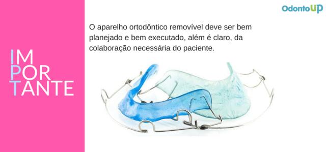 aparelho ortodontico removivel