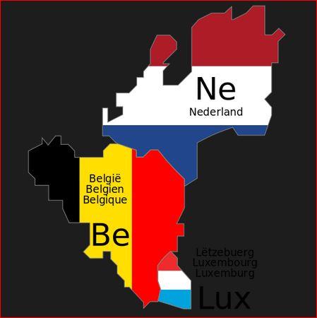 Belgia,Holandia,Luxemburg