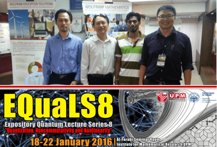 20160122 EQuaLS8 UPM