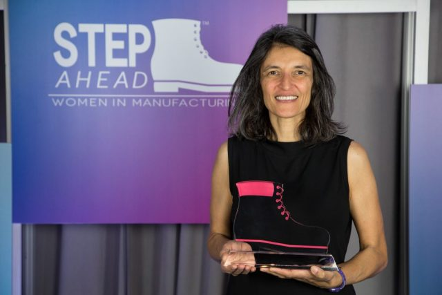 Washington, DC, USA - April 21, 2016: National Association of Manufacturers STEP Ahead Awards presentation reception at the Ronald Reagan Building and International Trade Center. Photo by Ian Wagreich