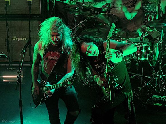 Santa Cruz, Block Buster & Rust n' Rage live in Pori, Finland 02.19.2016