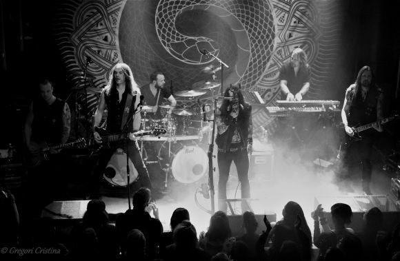 Amorphis live in Pori, Finland 01.20.2017