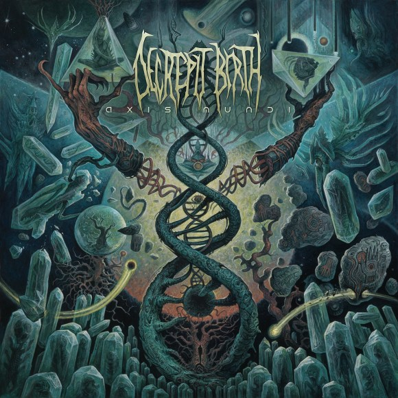 Decrepit Birth - Axis Mundi - Artwork