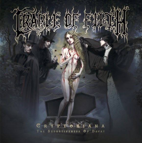 Cradle Of Filth - Cryptoriana - The Seductiveness Of Decay - Artwork