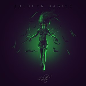 Butcher Babies - Lilith - Album Cover