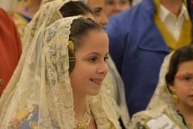 GALERÍA  Así fue la Ofrenda de Clara y de los 55.977 falleros que desfilaron en la primera jornada