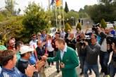 Sergio García recibe un emotivo homenaje en su club