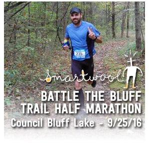 Smartwool Battle the Bluff Trail Half Marathon