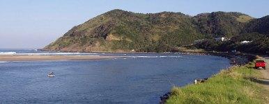 Umzimvubu River mouth