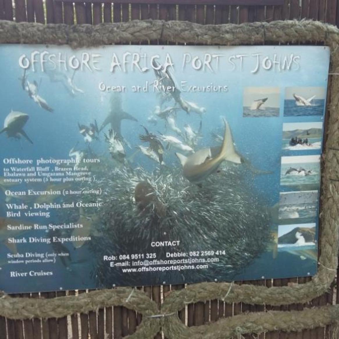Offshorre Africa dive base