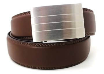 Evolve Buckle with Brown Strap