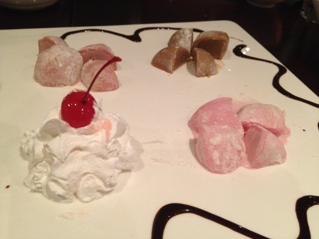 Mochi at Red Ginger