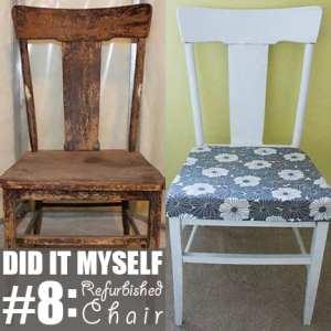 Did It Myself #8: Refurbished Chair