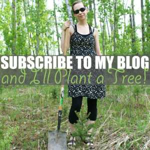 Subscribe to My Blog and I'll Plant a Tree!