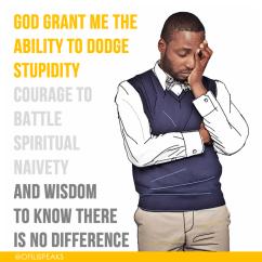 The Anti-Stupidity Prayer For Intelligent People #SerenityPrayer