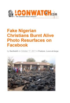 Let's Stop Circulating Fake #Baga Pictures
