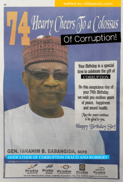 Quick Reminder: Just In Case Nigeria Forgot Who IBB Was #Amnesia