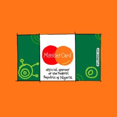 #MasterCard Now Official Sponsors Of The Federal Republic Of #Nigeria?