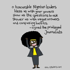 10 Rules Every Journalist Must Know Before Interviewing A #Nigeria Politician