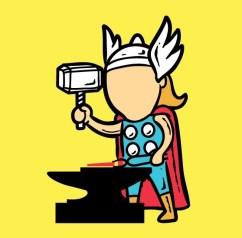 Even Super Heroes Need A Job