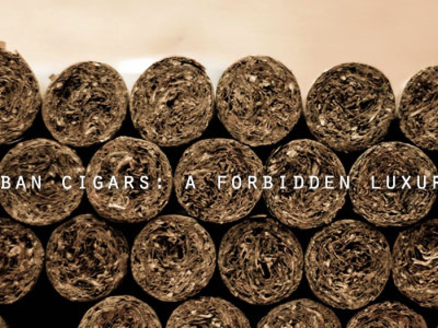 Cuban Cigars: A Forbidden Luxury