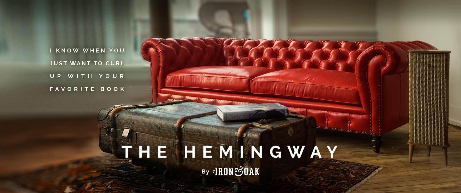 Hemingway Custom Chesterfield