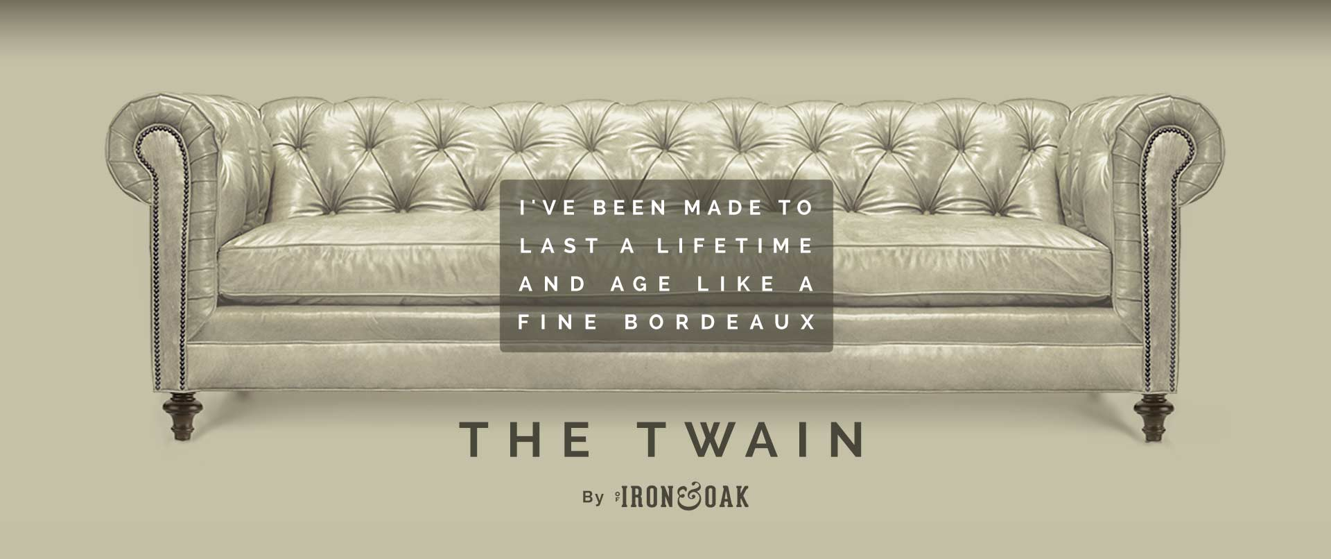 Twain Wide Tufted Chesterfield