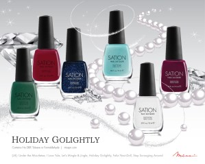 Miss Professional Nail Sation Holiday Golightly Collection 2012