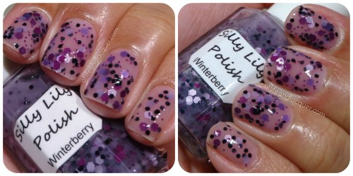 Silly Lily Winterberry Swatch
