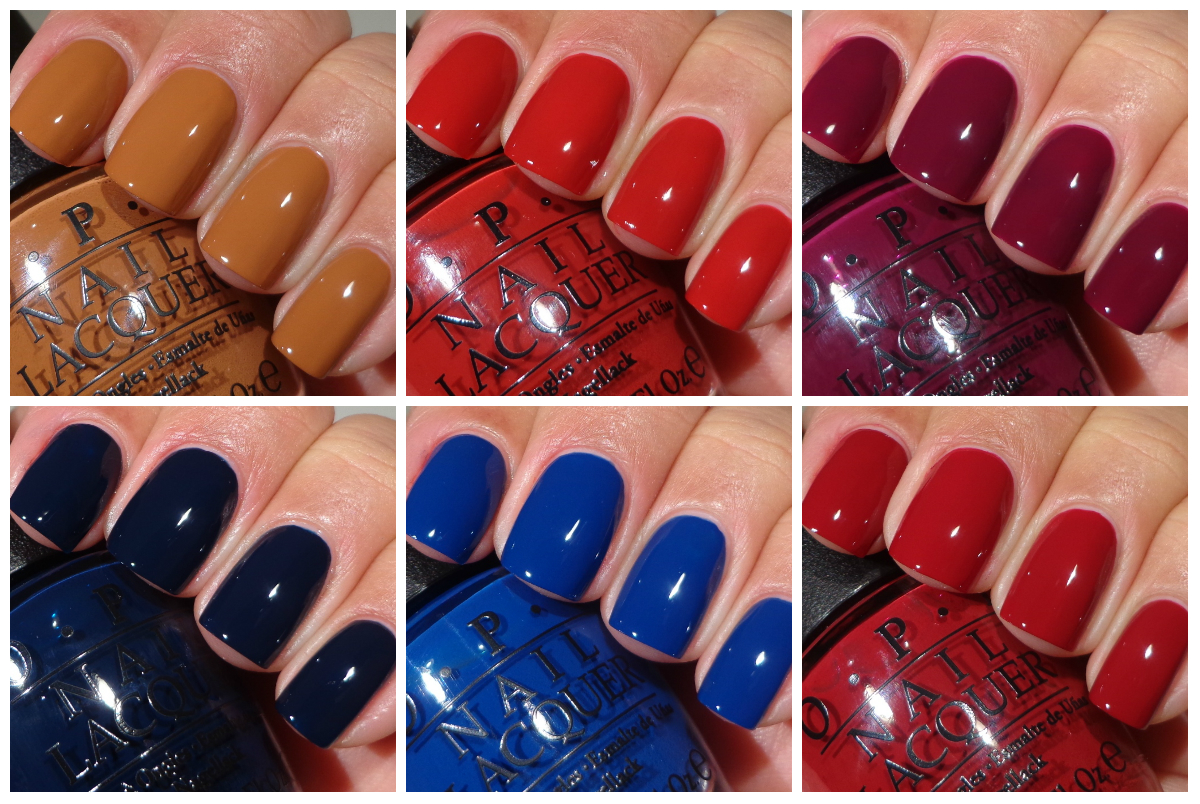 OPI San Francisco Collection - Cremes