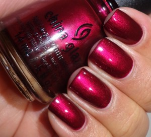 China Glaze Red-y & Willing 2
