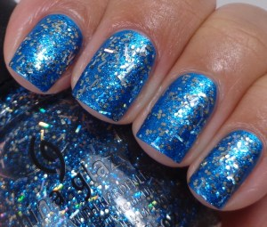 China Glaze Bells Will be Blinging over So Blue Without You 1