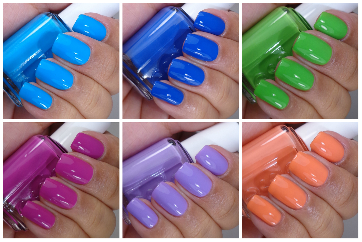 Essie Too Taboo Summer Neons Collection 2014