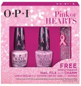 Giveaway – OPI Pink Of Hearts BCA 2014