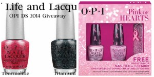 Winner Announced – OPI DS Polished Quartz & OPI Pink Of Hearts BCA 2014