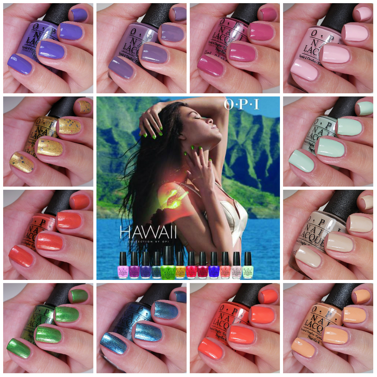 OPI Hawaii Collection + Giveaway!