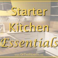 Starter Kitchen Essentials