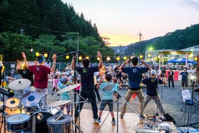 平成28年7月30日 ゆめ踊る夏のフェスティバル! 成木地区 大盆踊り