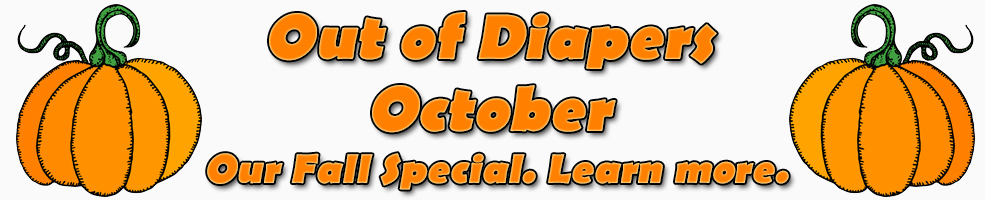 out of diapers october banner