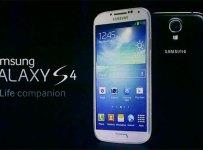 Samsung Galaxy S4 Home Screen Menu