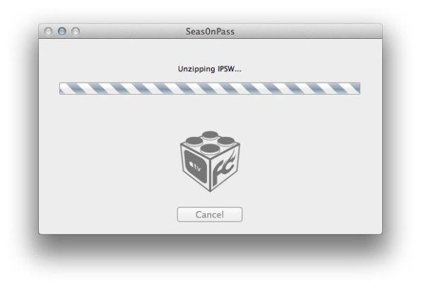 Unzipping IPSW Apple TV Jailbreak