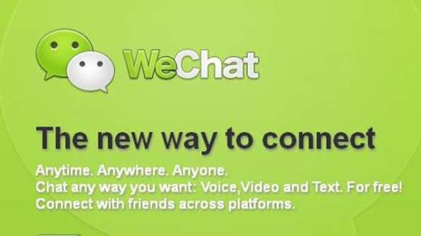 WeChat App: Android, iOS and Windows Phones