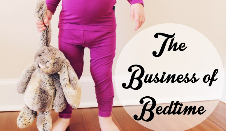 The Business of Bedtime – Guest Blogger with Little Adi + Co