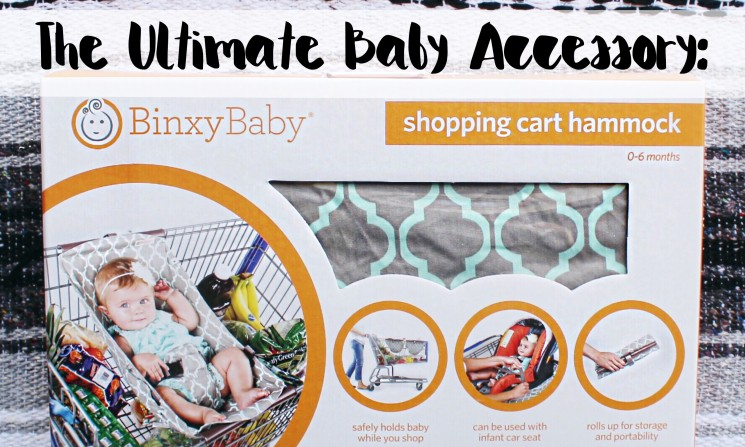 The Ultimate Baby Accessory: Binxy Baby's Shopping Cart Hammock