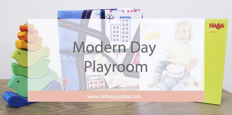The Modern Day Playroom