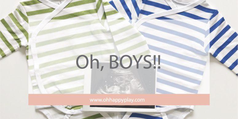 Oh, BOYS!!